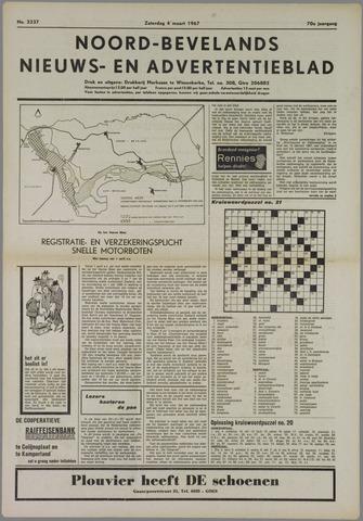 Noord-Bevelands Nieuws- en advertentieblad 1967-03-04