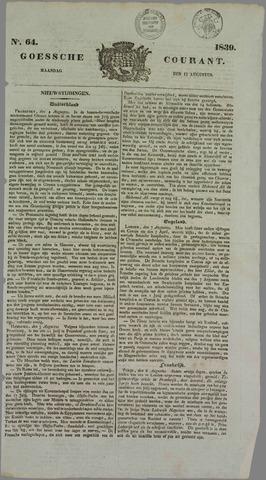 Goessche Courant 1839-08-12