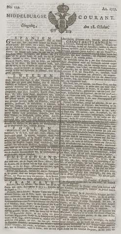 Middelburgsche Courant 1777-10-28