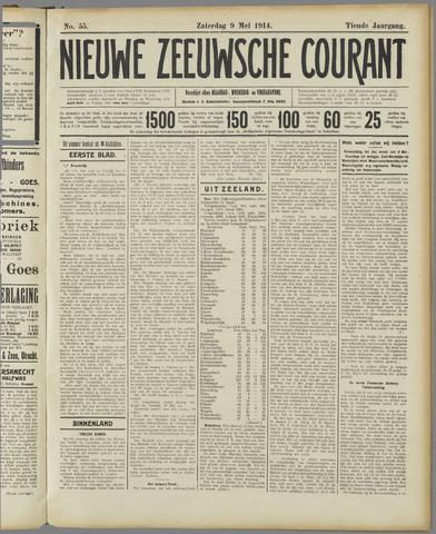 Nieuwe Zeeuwsche Courant 1914-05-09