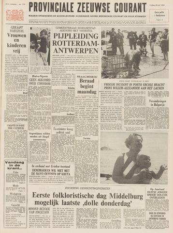 Provinciale Zeeuwse Courant 1968-07-26
