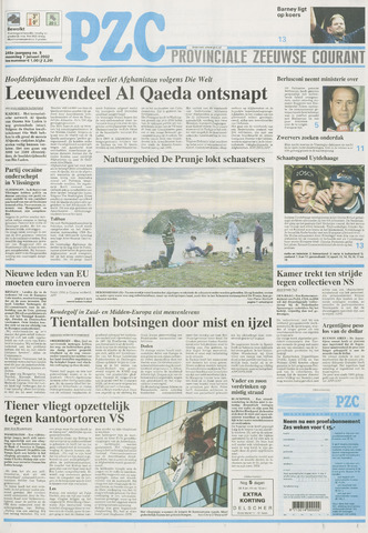 Provinciale Zeeuwse Courant 2002-01-07