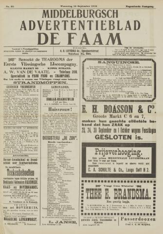 de Faam en de Faam/de Vlissinger 1915-09-15