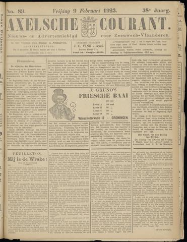 Axelsche Courant 1923-02-09