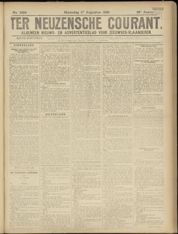 Ter Neuzensche Courant. Algemeen Nieuws- en Advertentieblad voor Zeeuwsch-Vlaanderen / Neuzensche Courant ... (idem) / (Algemeen) nieuws en advertentieblad voor Zeeuwsch-Vlaanderen 1928-08-27