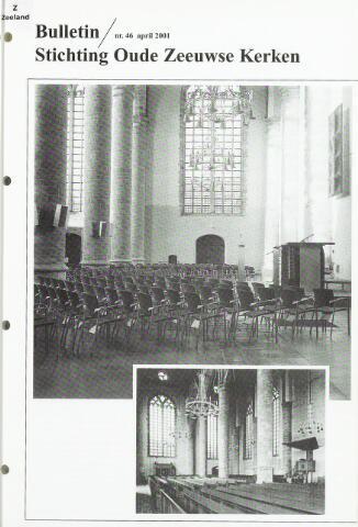 Bulletin Stichting Oude Zeeuwse kerken 2001