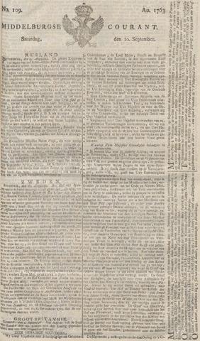 Middelburgsche Courant 1763-09-10