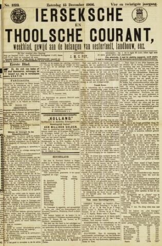 Ierseksche en Thoolsche Courant 1906-12-15