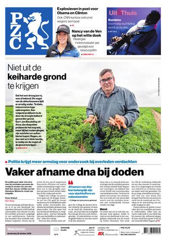 Provinciale Zeeuwse Courant 2018-10-25
