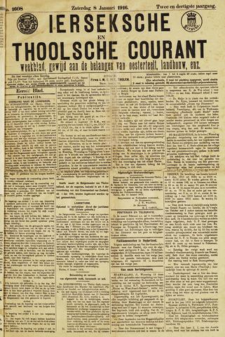 Ierseksche en Thoolsche Courant 1916-01-08