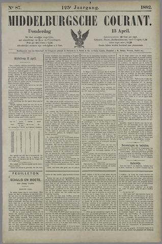 Middelburgsche Courant 1882-04-13
