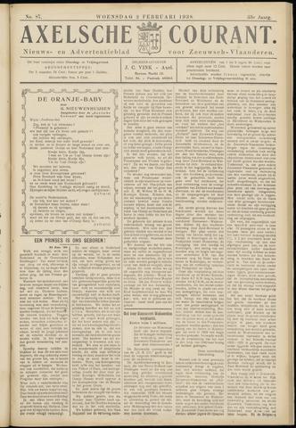 Axelsche Courant 1938-02-02