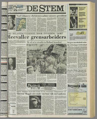 de Stem 1989-11-06