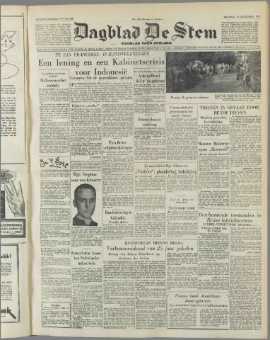 de Stem 1951-09-10