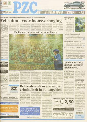 Provinciale Zeeuwse Courant 2003-11-22