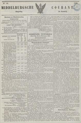 Middelburgsche Courant 1850-01-29