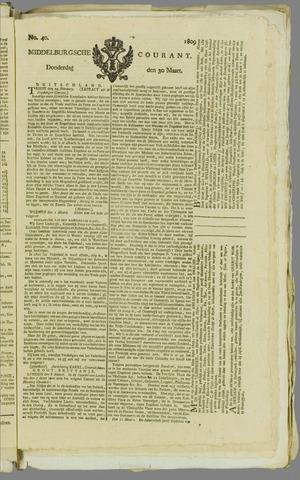 Middelburgsche Courant 1809-03-30