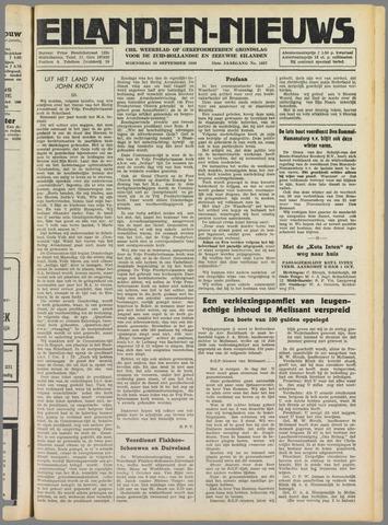 Eilanden-nieuws. Christelijk streekblad op gereformeerde grondslag 1949-09-28