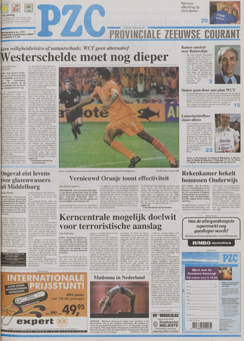 Provinciale Zeeuwse Courant 2004-09-09