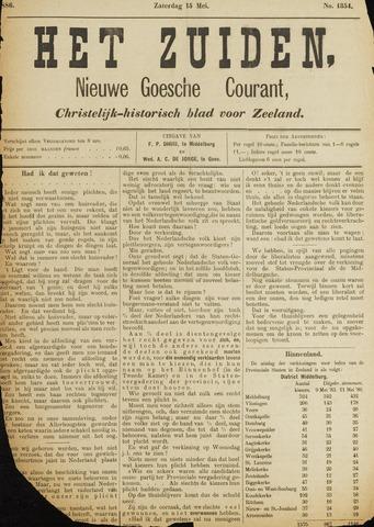 Het Zuiden, Christelijk-historisch blad 1886-05-15