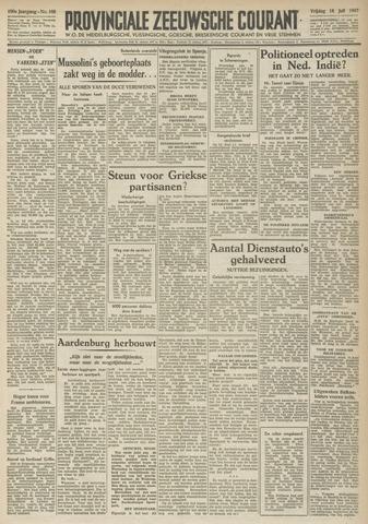 Provinciale Zeeuwse Courant 1947-07-18