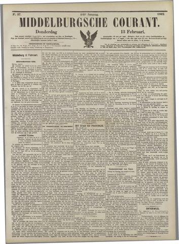 Middelburgsche Courant 1902-02-13