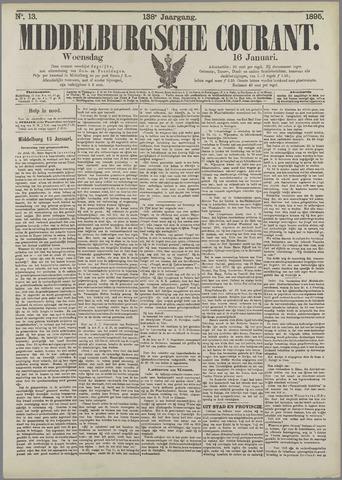 Middelburgsche Courant 1895-01-16