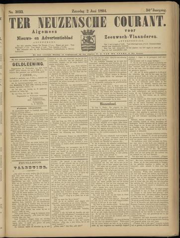 Ter Neuzensche Courant. Algemeen Nieuws- en Advertentieblad voor Zeeuwsch-Vlaanderen / Neuzensche Courant ... (idem) / (Algemeen) nieuws en advertentieblad voor Zeeuwsch-Vlaanderen 1894-06-02