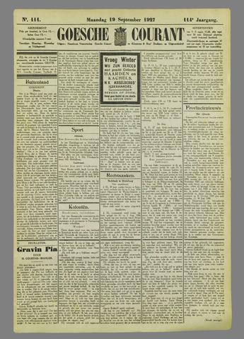 Goessche Courant 1927-09-19