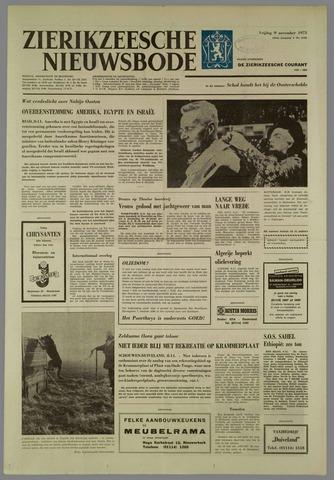 Zierikzeesche Nieuwsbode 1973-11-09
