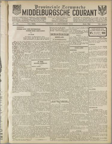 Middelburgsche Courant 1930-11-14