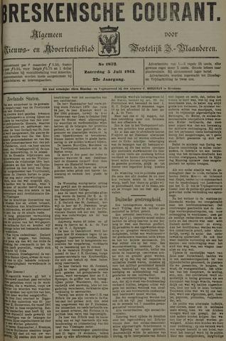 Breskensche Courant 1913-07-05