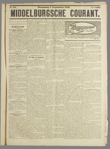 Middelburgsche Courant 1927-09-07