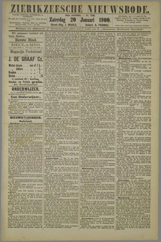 Zierikzeesche Nieuwsbode 1900-01-20