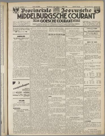 Middelburgsche Courant 1934-06-25