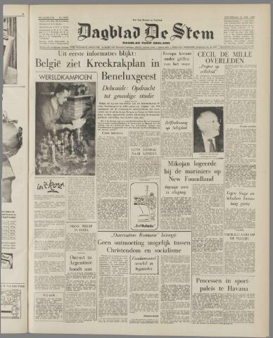 de Stem 1959-01-22