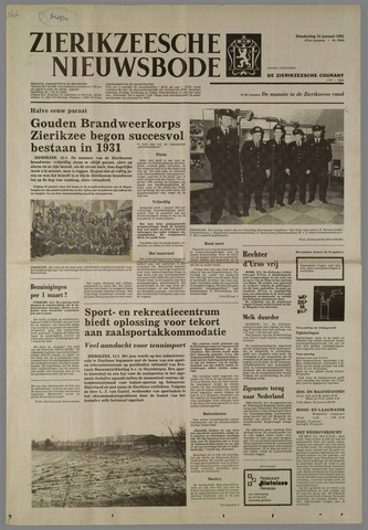 Zierikzeesche Nieuwsbode 1981-01-15