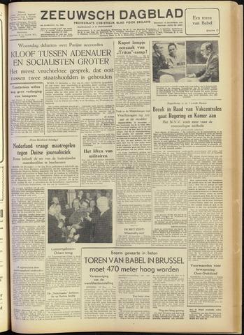 Zeeuwsch Dagblad 1954-12-14