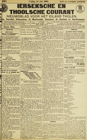 Ierseksche en Thoolsche Courant 1930-07-18