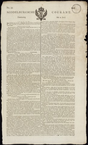 Middelburgsche Courant 1814-06-02