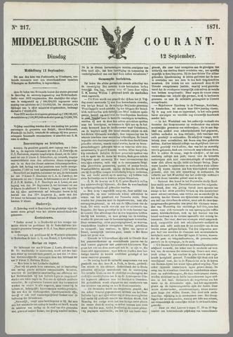 Middelburgsche Courant 1871-09-12