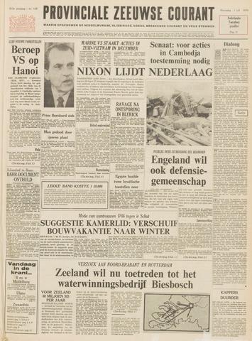 Provinciale Zeeuwse Courant 1970-07-01