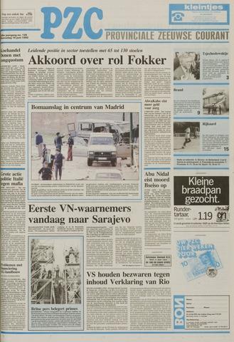 Provinciale Zeeuwse Courant 1992-06-10
