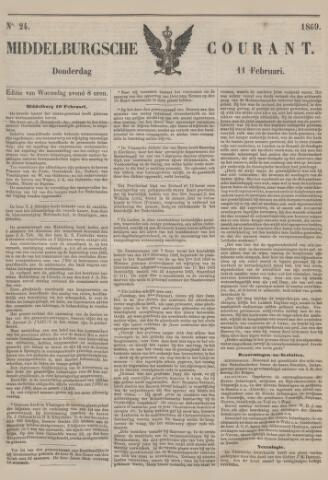 Middelburgsche Courant 1869-02-11