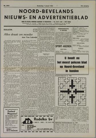 Noord-Bevelands Nieuws- en advertentieblad 1982-01-07