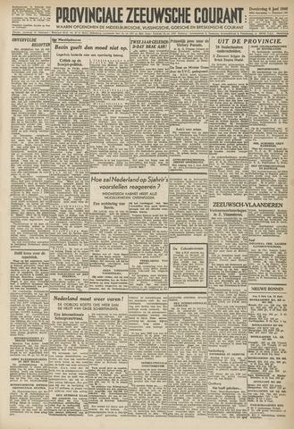 Provinciale Zeeuwse Courant 1946-06-06