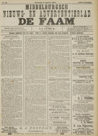 de Faam en de Faam/de Vlissinger 1904-08-03