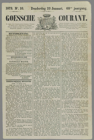 Goessche Courant 1873-01-23