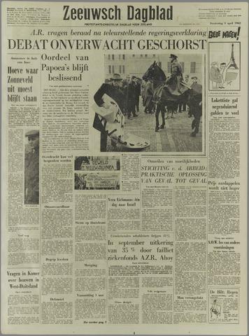 Zeeuwsch Dagblad 1962-04-05