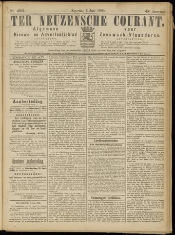 Ter Neuzensche Courant. Algemeen Nieuws- en Advertentieblad voor Zeeuwsch-Vlaanderen / Neuzensche Courant ... (idem) / (Algemeen) nieuws en advertentieblad voor Zeeuwsch-Vlaanderen 1905-06-03